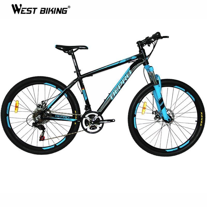 Mountain Bike Aluminum Alloy 21 speed Dual Disc Brakes 26 inch ...