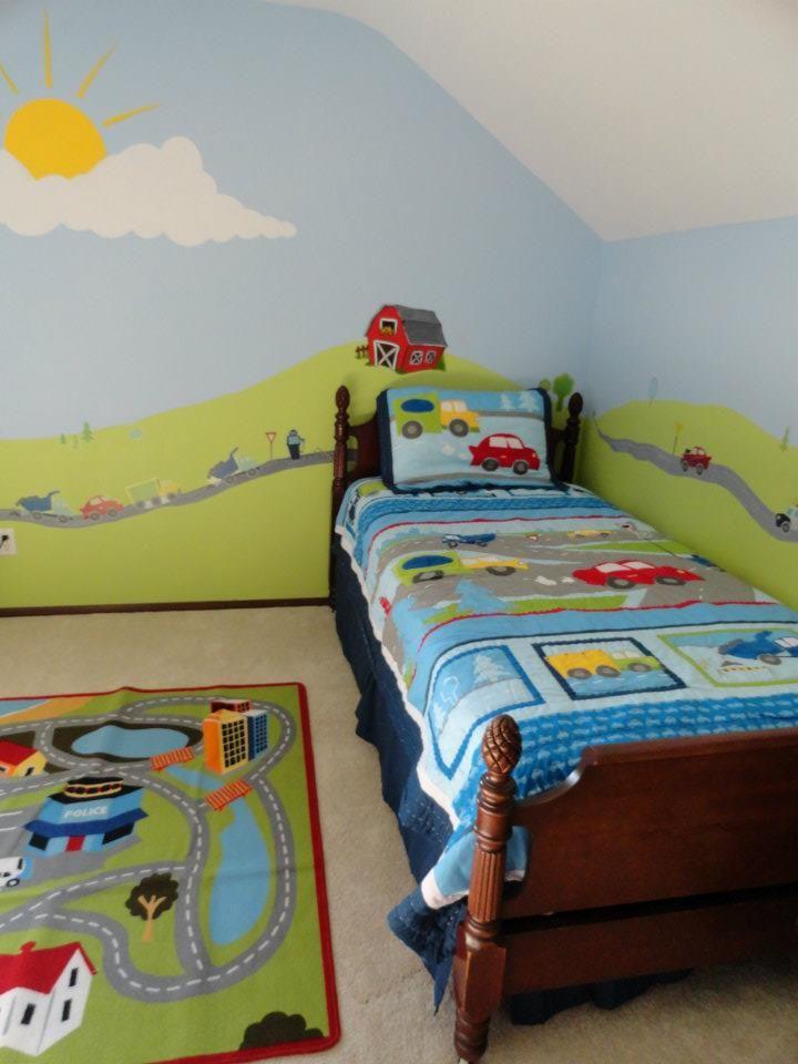 Chicago Nursery Murals Rooms Boys S