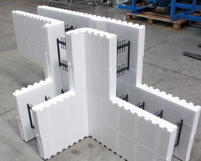 Icf form for Styrofoam forms