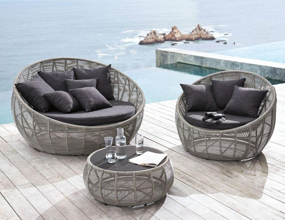 Outdoor Furniture Nel 2020 Divano Rotondo Divano Giardino Tavolini