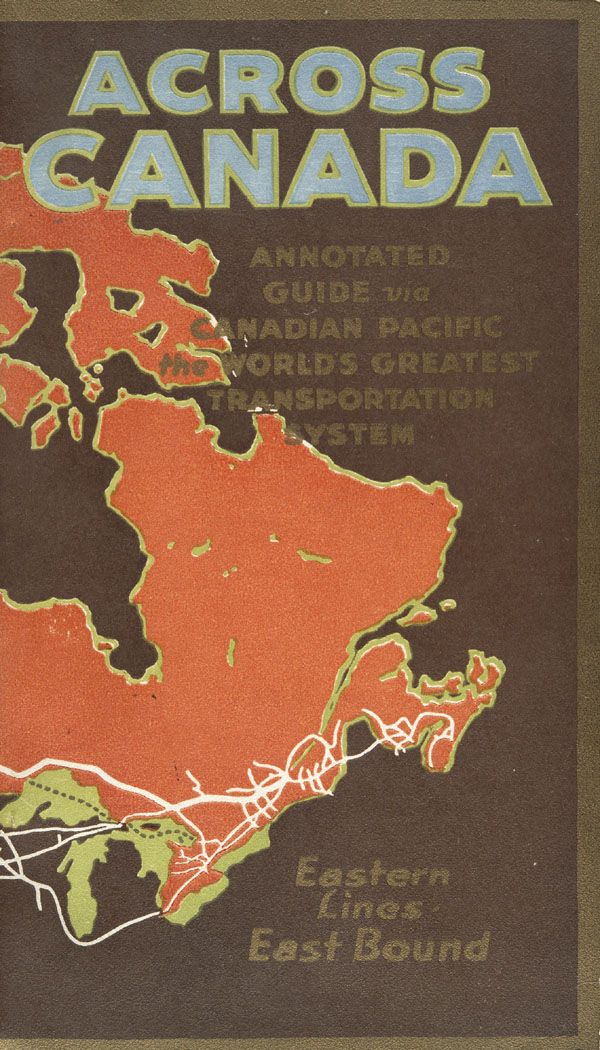 Canadian Pacific Railway, 1922