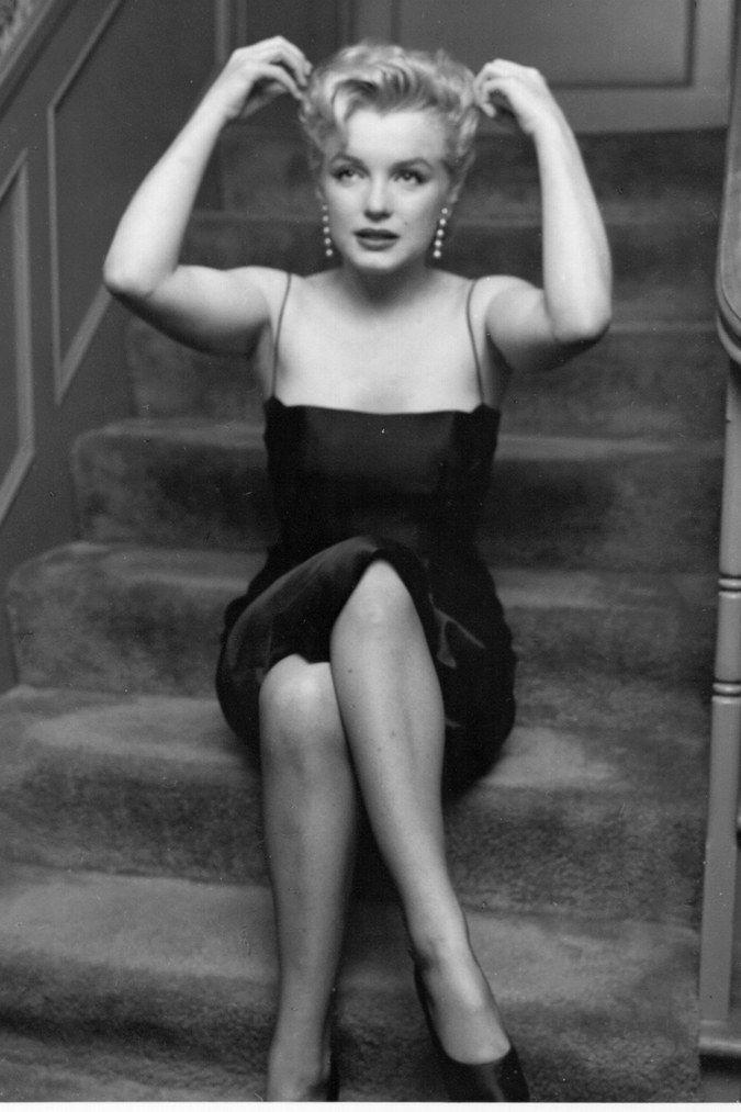 Marilyn Monroes einzigartiger Stil - fashion beauty #hollywoodactor Marilyn Monroes einzigartiger St...