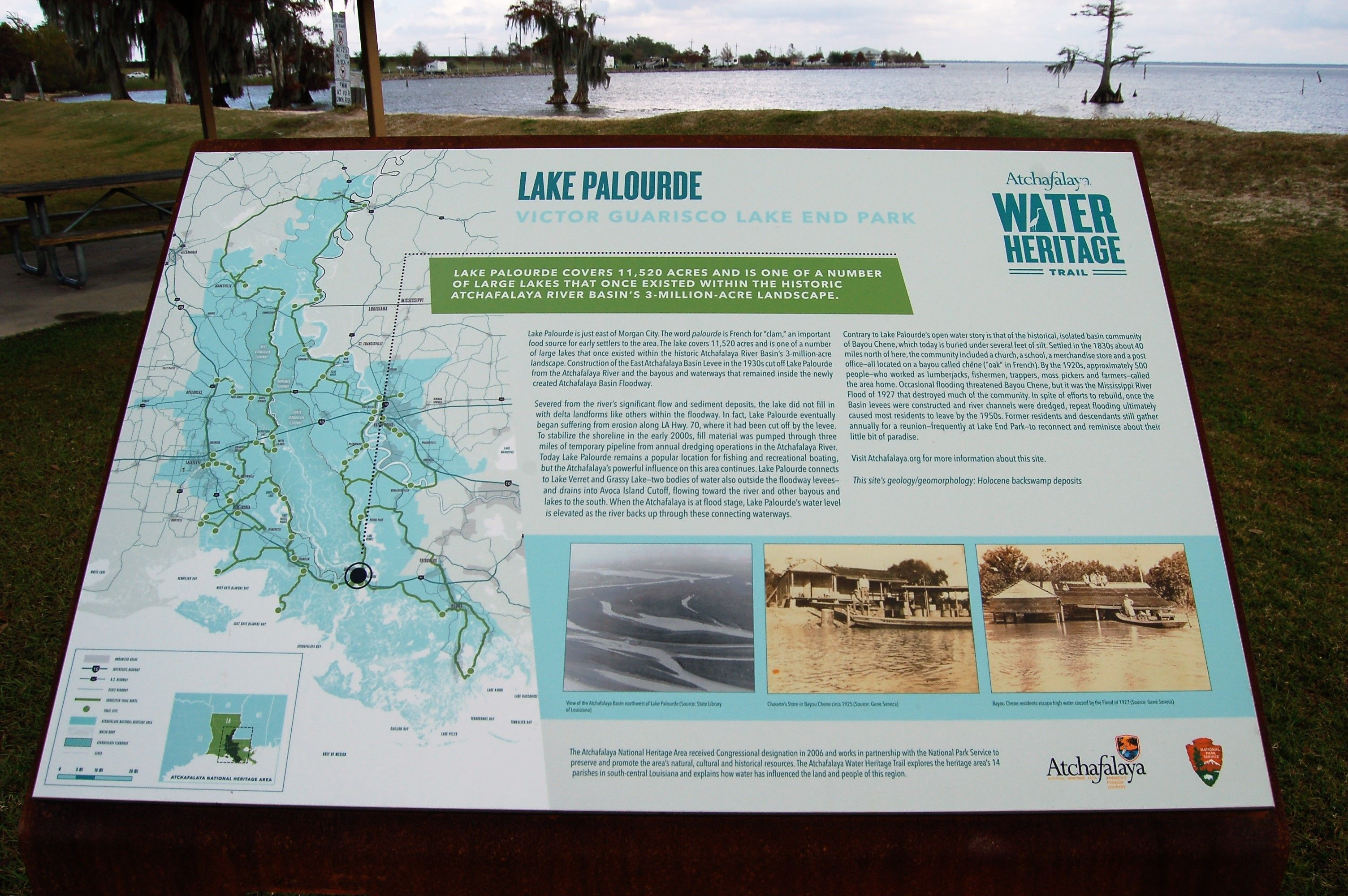 Lake Palourde Morgan City St Mary Parish Louisiana Morgan City Louisiana Parishes Lake