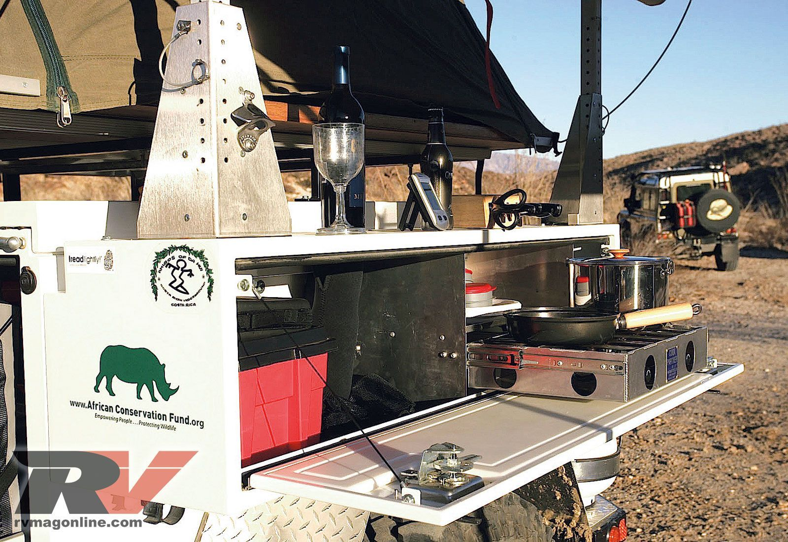 Tent Camper Trailers Adventure Trailers Horizon Outdoor Kitchen Entrancing Travel Trailer With Outdoor Kitchen Decorating Inspiration