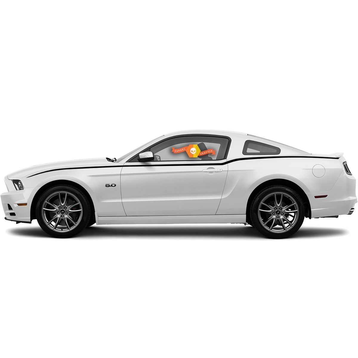 Ford Mustang 2010 2020 Side Accent Stripes 2014 Ford Mustang 2010 Mustang Ford Mustang [ 1200 x 1200 Pixel ]