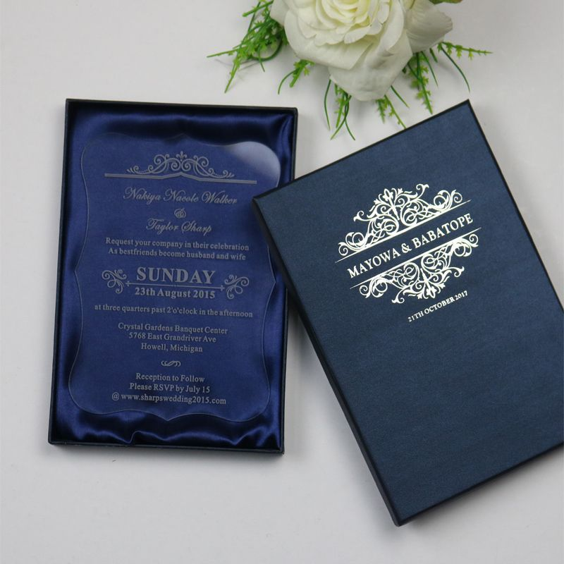 Cheap Wedding Invitation Card Buy Quality Directly From China Acrylic Suppliers