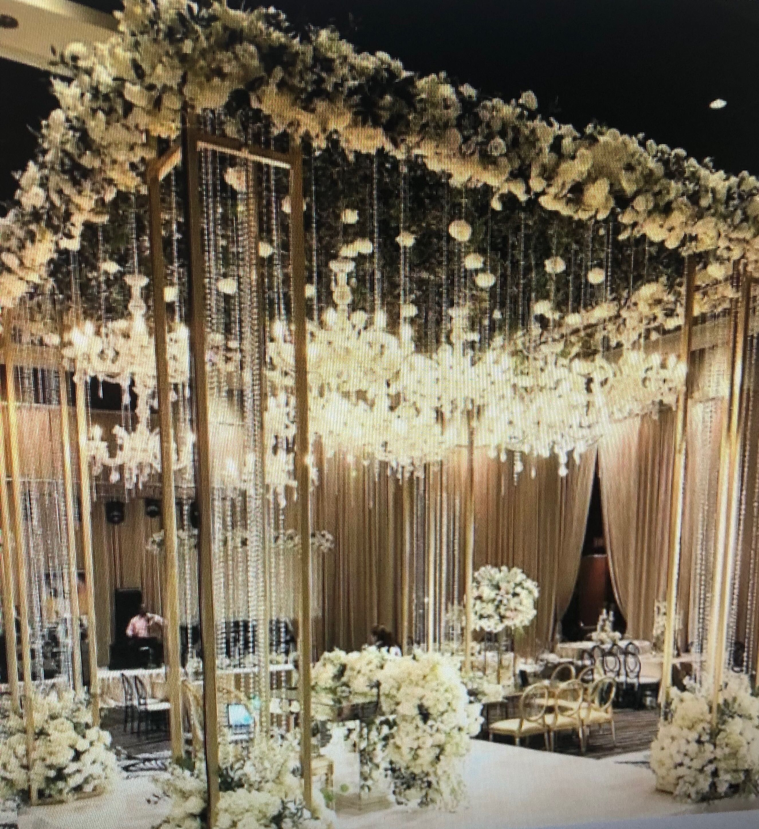 Indoor Wedding Reception Ideas: Pin By Preeti D. On Wedding Reception In 2019