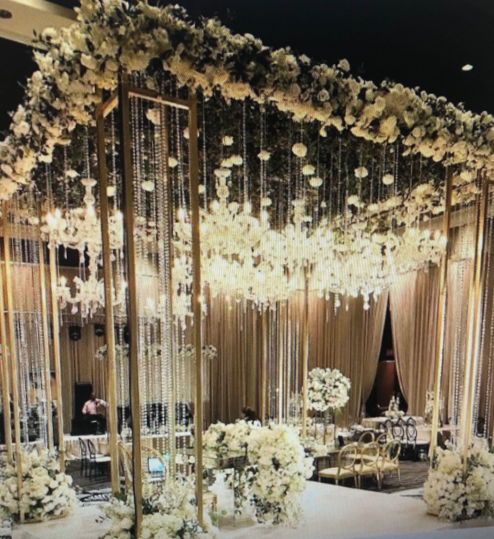 Wedding Reception image by Preeti D. | Wedding mandap ...