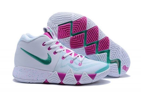 best service 295c6 8da00 ... sale 2018 nike kyrie 4 white and pink mint green for sale 1e861 92887