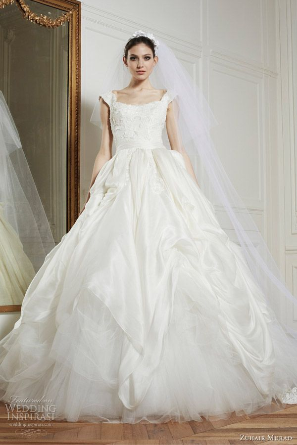 wedding dress http://www.wedding-dressuk.co.uk/tulle-lace-ruching ...