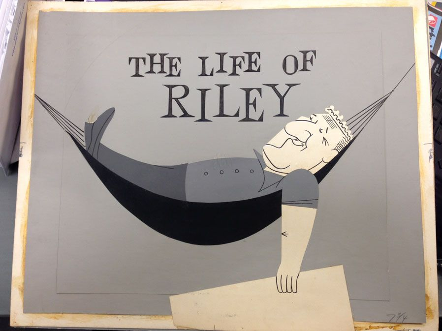 of card (title The Riley Hee) by T. designed Life