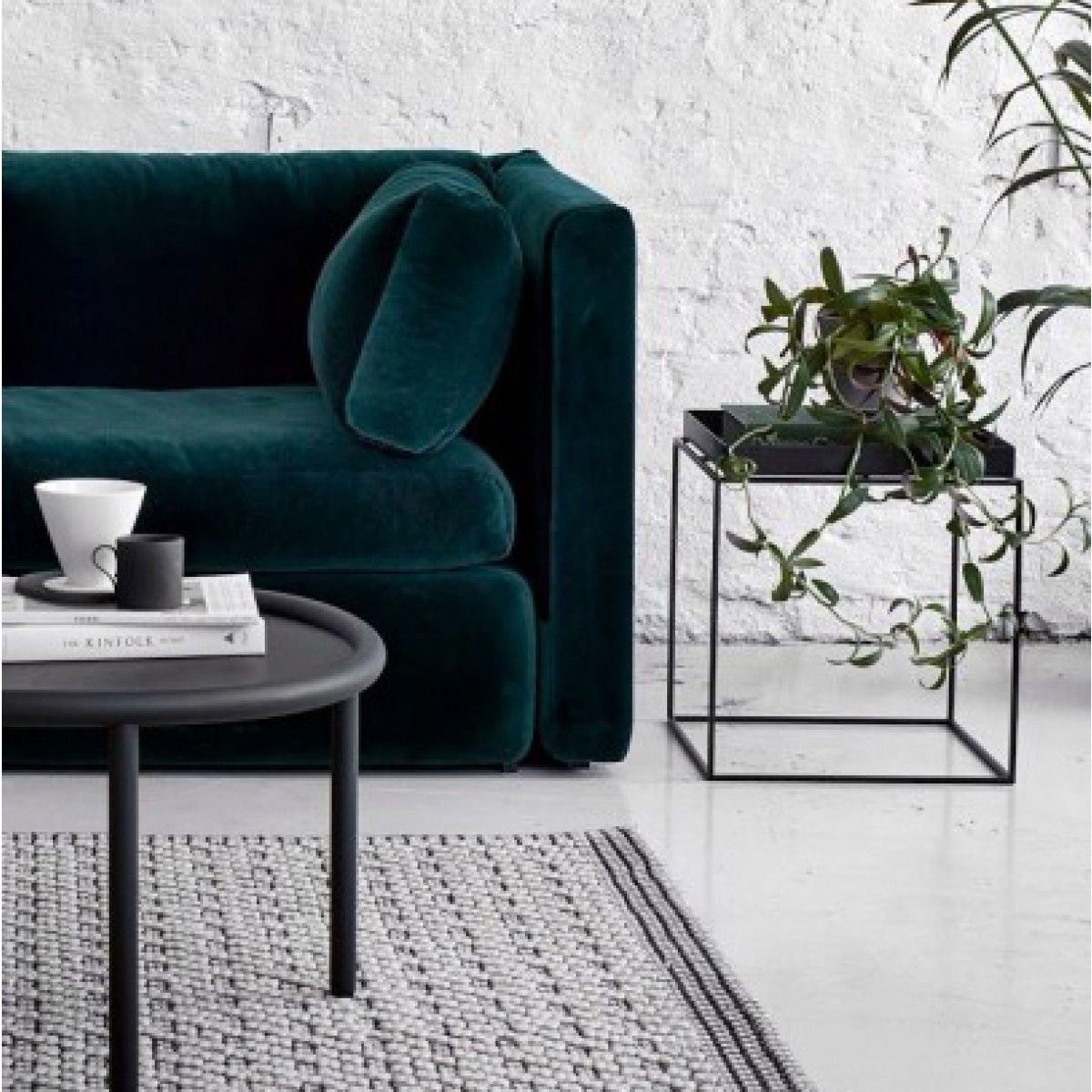 Versatile and minimalist side TRAY table by Hay of Denmark l Designstuff.com.au