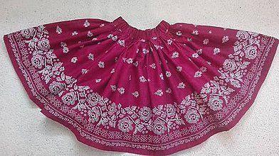 0fd2ba5e019e Detské oblečenie - Dievčenská folklórna suknička - 8696794