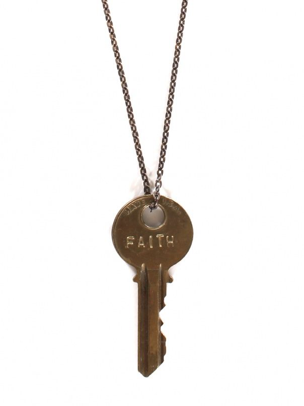 Faith Key Necklace by The Giving Keys - ShopKitson.com