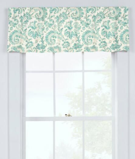 Natalie Lined Tailored Valance - Country Curtains® Our cumbersome