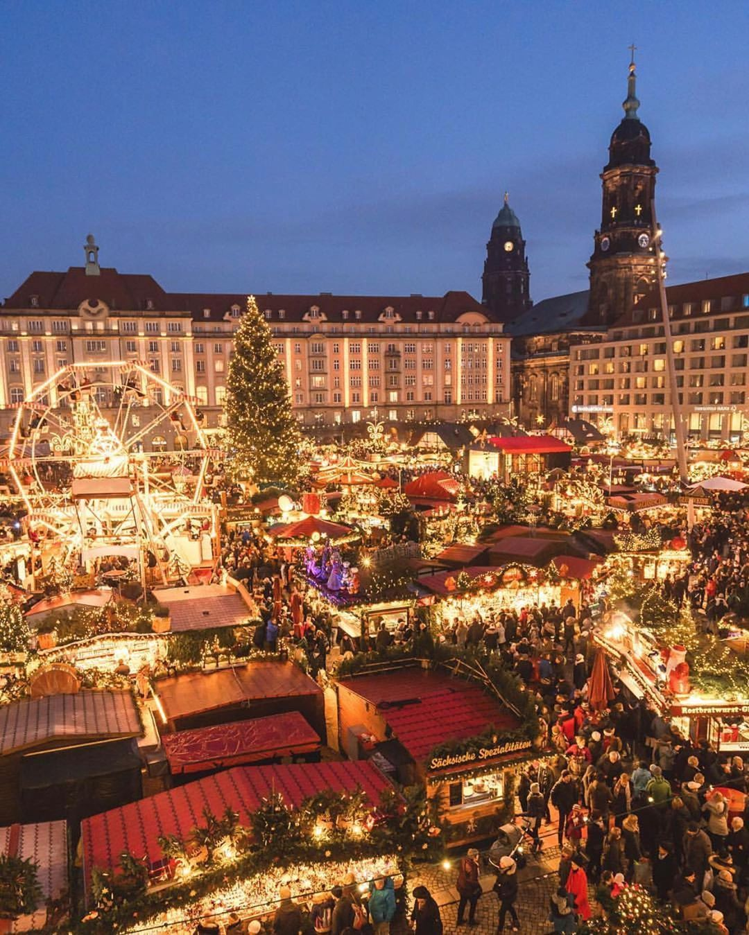 Travelling Through The World C On Instagram European Christmas Markets Courtesy Of Magict With Images Christmas In Germany Cool Places To Visit Christmas In Europe