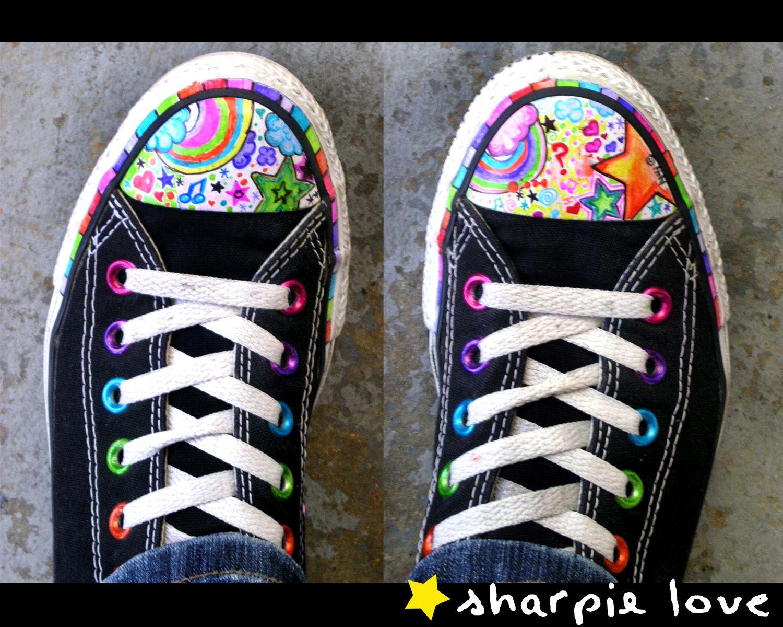 9cf7d70779d Sharpie Decorated Bubble Toe