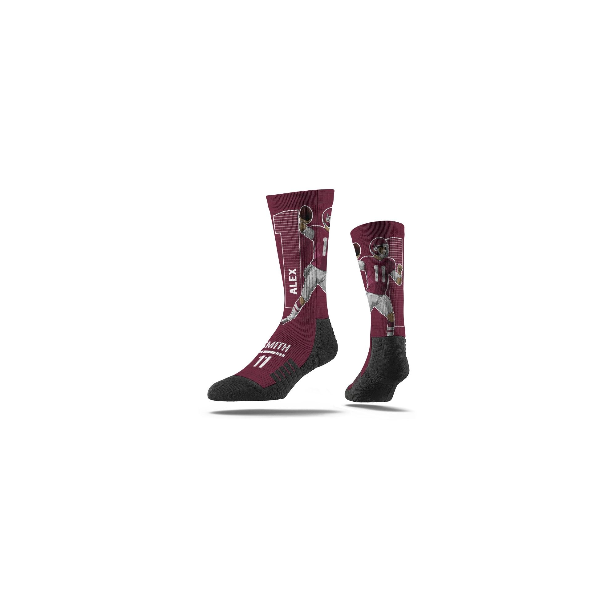 Nfl Washington Redskins Alex Smith Premium Player Sock Products
