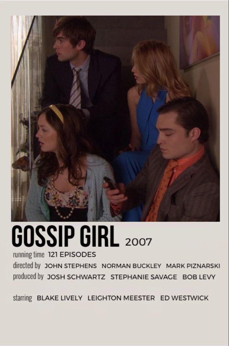 gossip girl movie poster