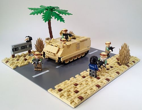 LEGO military models - Amazingly accurate - A Lego a Day - #LEGO LEGO Lego
