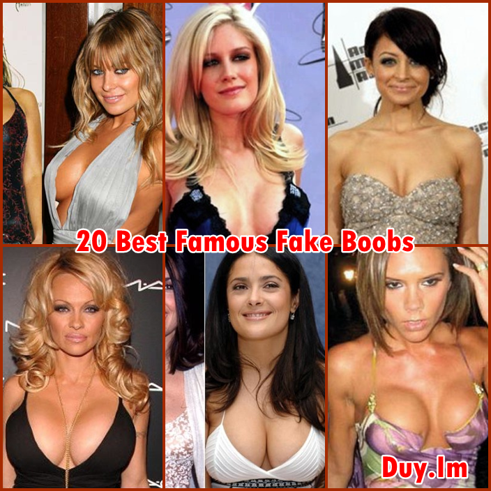 Best fake boob pictures