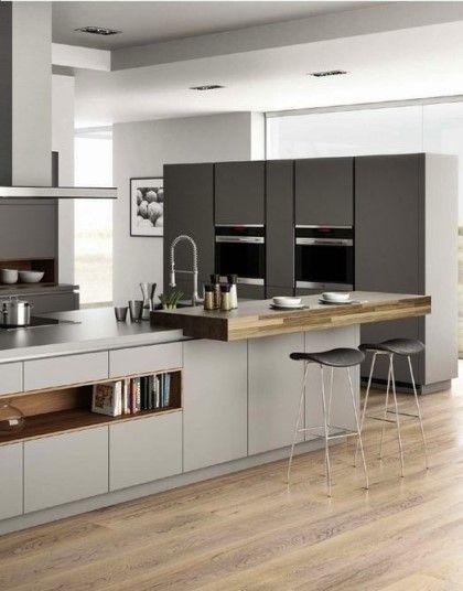 아일랜드 식탁을 활용한 주방 시스템 맞춤가구 인테리어 네이버 블로그 모던 부엌 디자인 원목주방 부엌 꾸미기