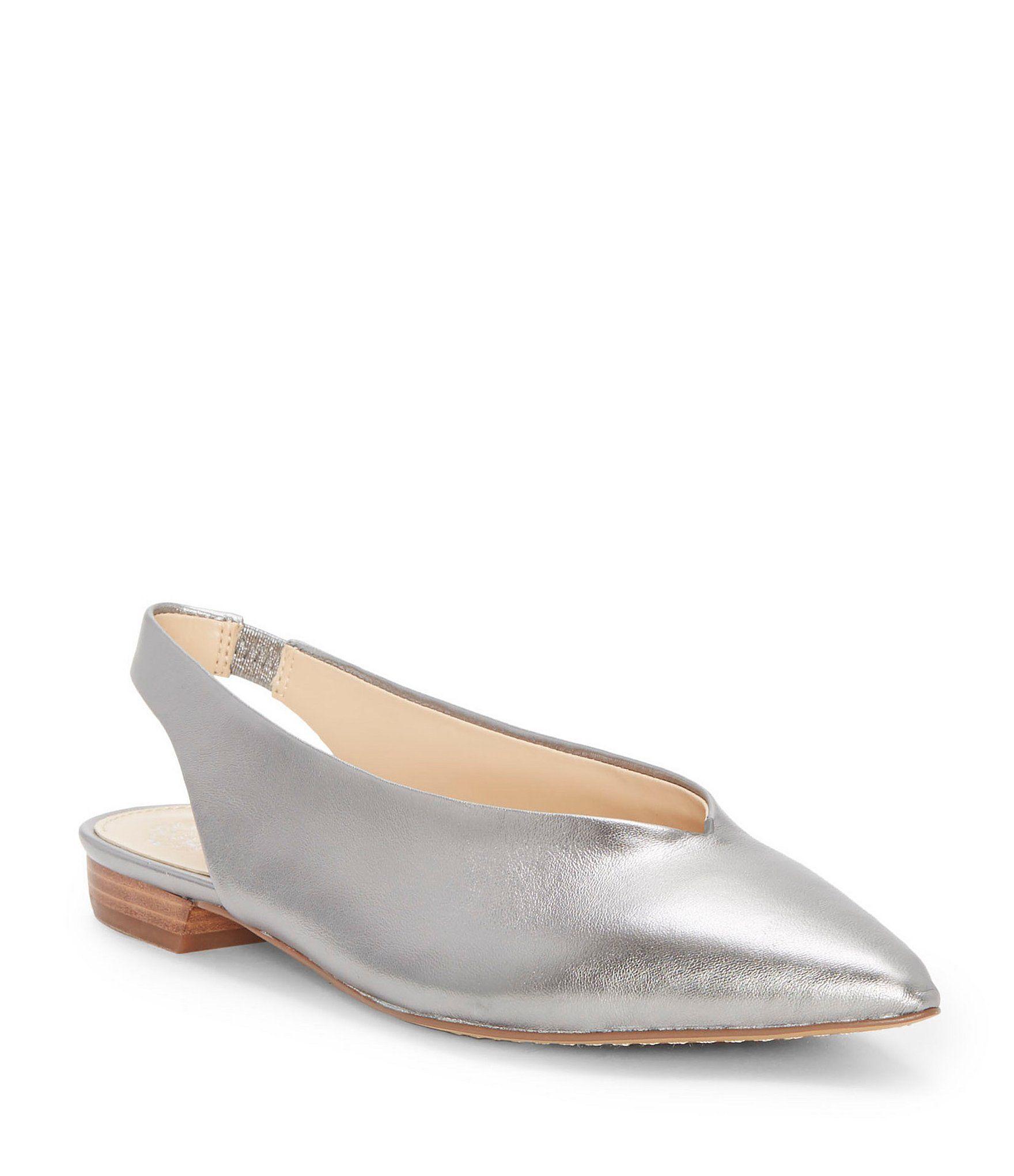 Vince Camuto Womens Maltida Ballet Flat