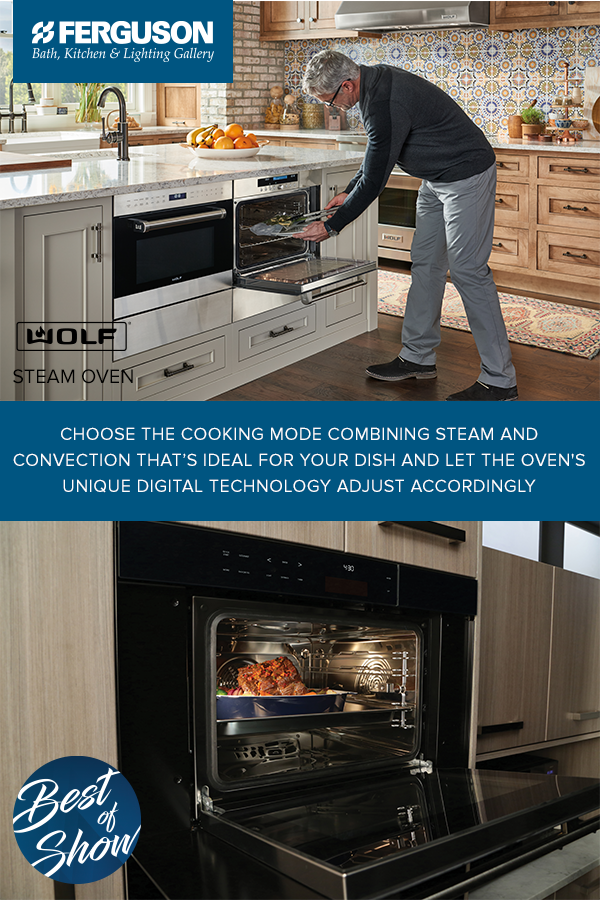 Build Your Dream Kitchen With Wolf Steam Ovens Choose The Cooking Mode Combining And Convection That S Ideal For Dish Let Oven Unique