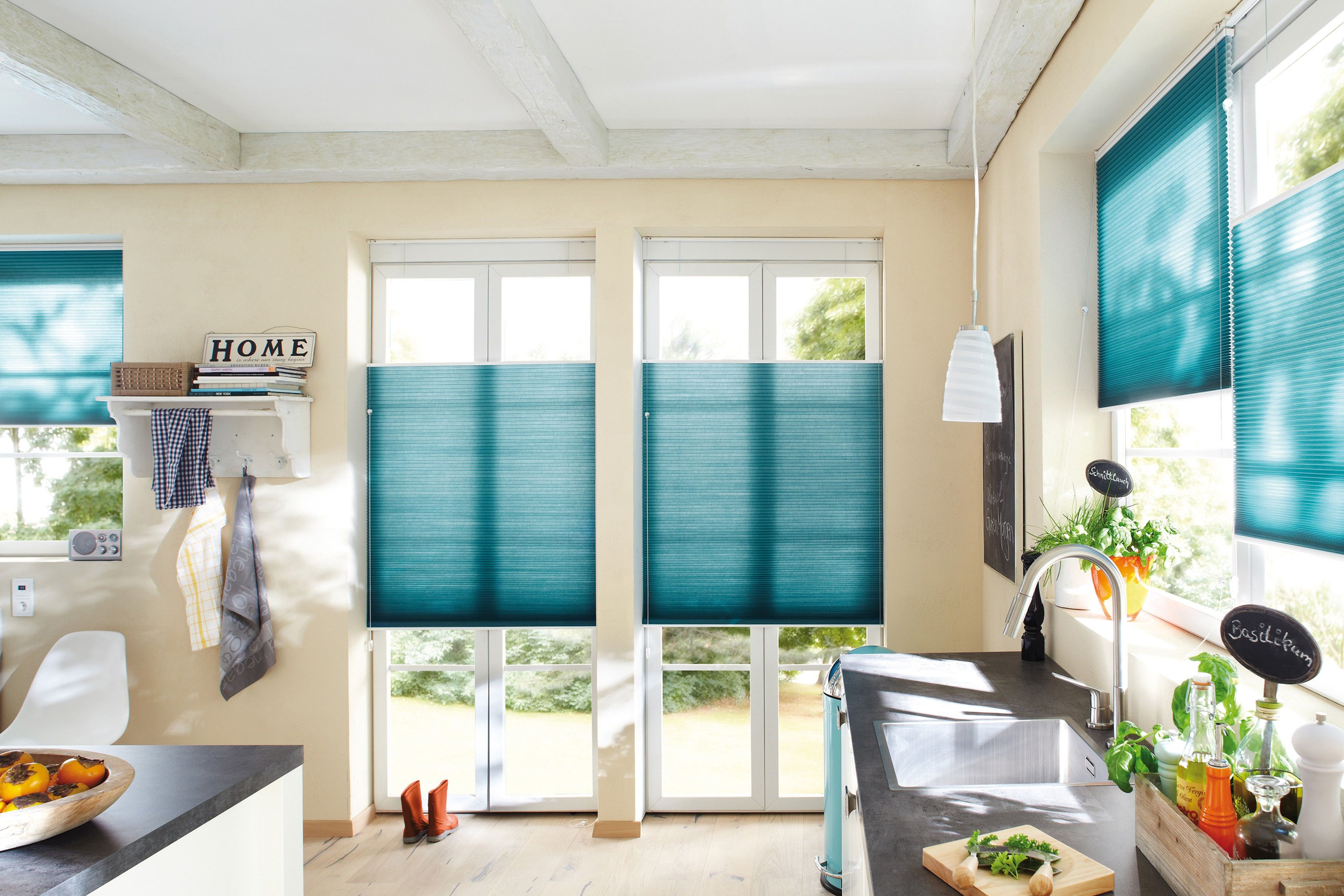 Duette blinds from Apollo Blinds | Coral and Blue Interiors ...