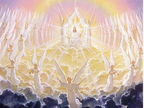 Angels Worshiping Jesus With Images Jesus Second Coming