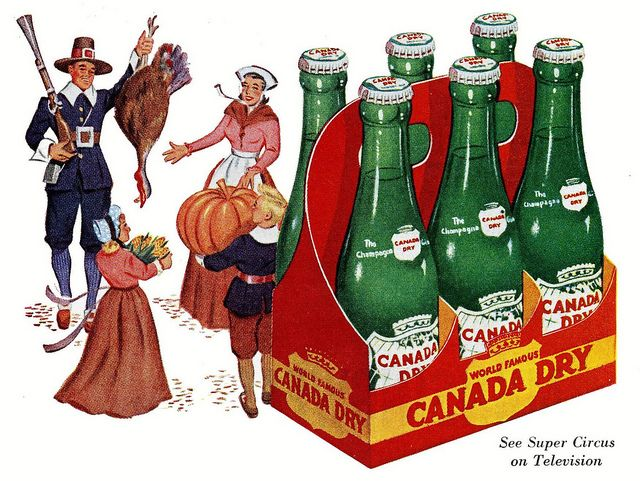 Canada Dry Thanksgiving ad