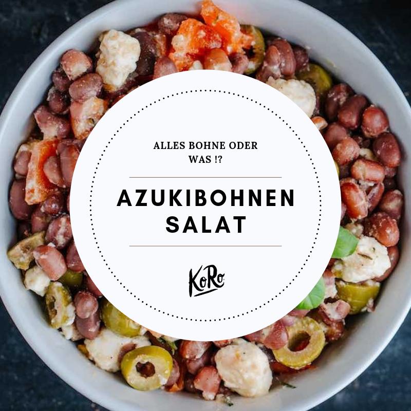 Azukibohnen-Salat