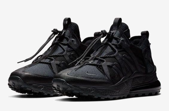 7844b6d87e947f Available Now  Nike Air Max 270 Bowfin Triple Black