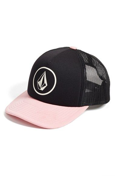 a177bd5b194bd2 Junior Women's Volcom 'Nacho' Trucker Hat | Hats in 2019 | Black ...