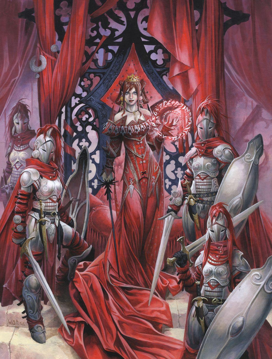 Curse of the Crimson Throne Hardcover By Wayne Reynolds