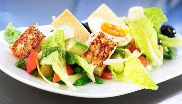 Kombinasjonen med kveite og gode grønnsaker har en perfekt balanse og vil gi deg en god matopplevelse. Et godt og grovt rundstykke passer godt til.