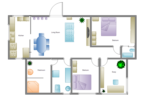Building Plan Software Edraw Building Design Building Architecture Charming House Design Scheme Simple House Plans Home Plan Software Simple House Design