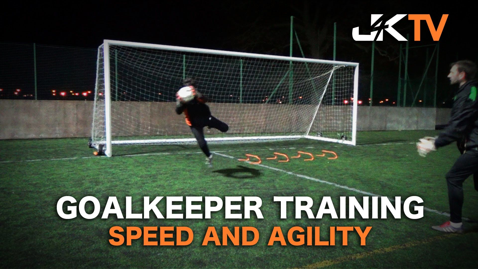 Goalkeeper training speed and agility goalkeeper