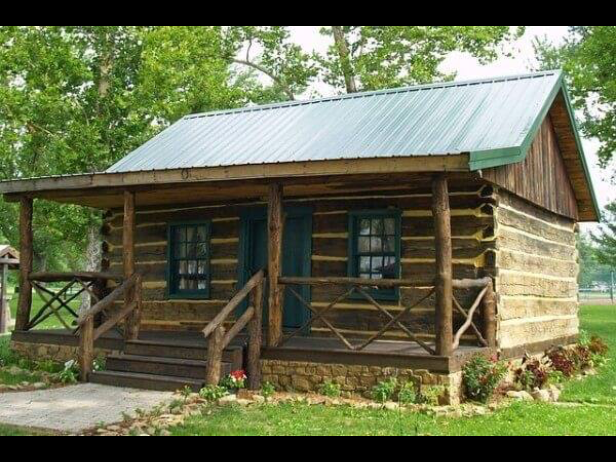 Want To Build This One Day Soon With Images Diy Log Cabin Small Log Cabin Log Cabin Floor Plans