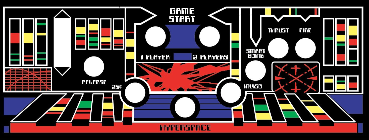 Arcade Marquee Stickers Artwork Stickers Graphic Laminated  Final Fight More