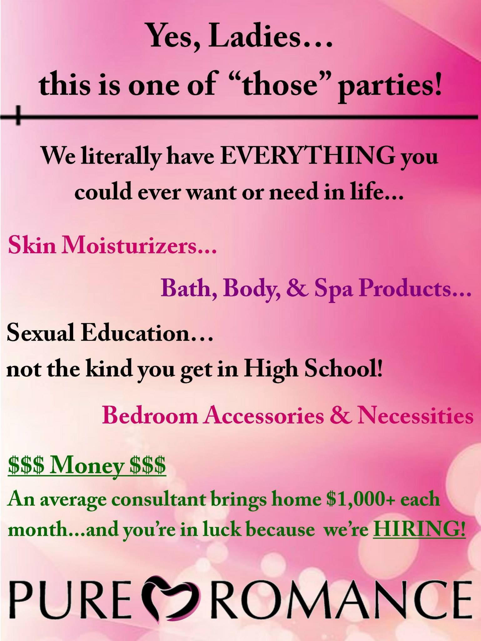 Start sex toy home party business