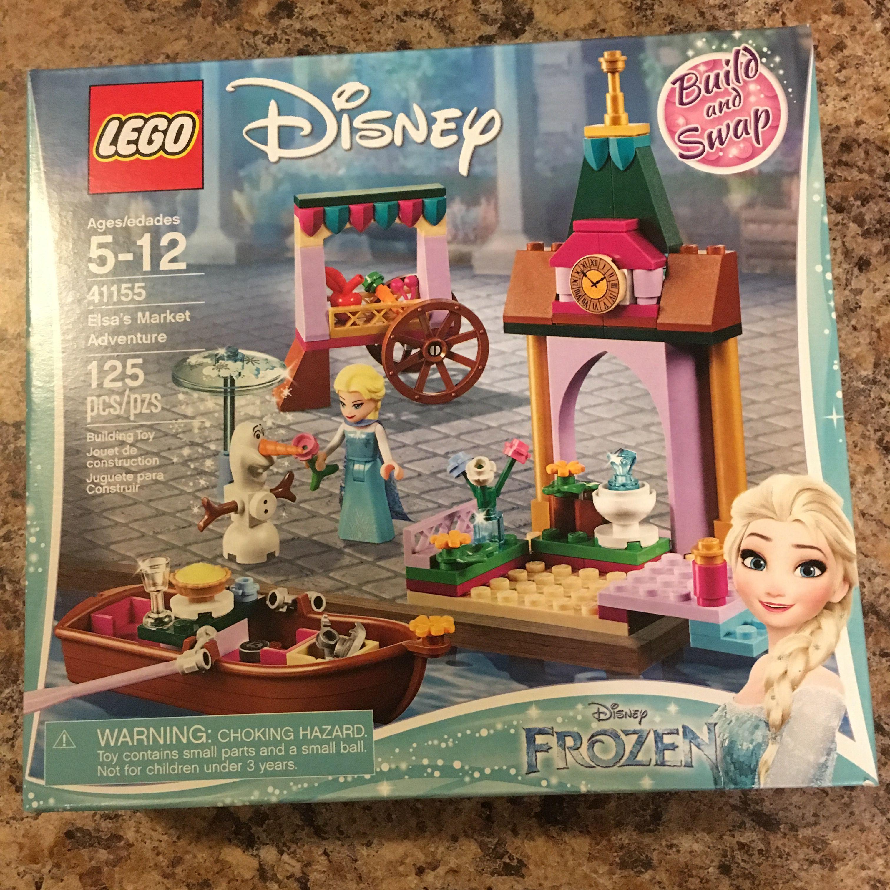 Lego Elsa's Market Adventure Disney Frozen Set 41155 Brand New SEALED