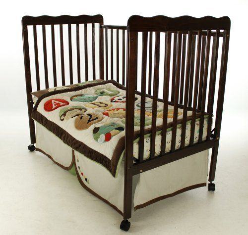Dream On Me Classic 2 In 1 Convertible Stationary Side Crib Espresso By Dream On Me Children And Nursery To Buy Just C Portable Toddler Bed Cribs Toddler Bed