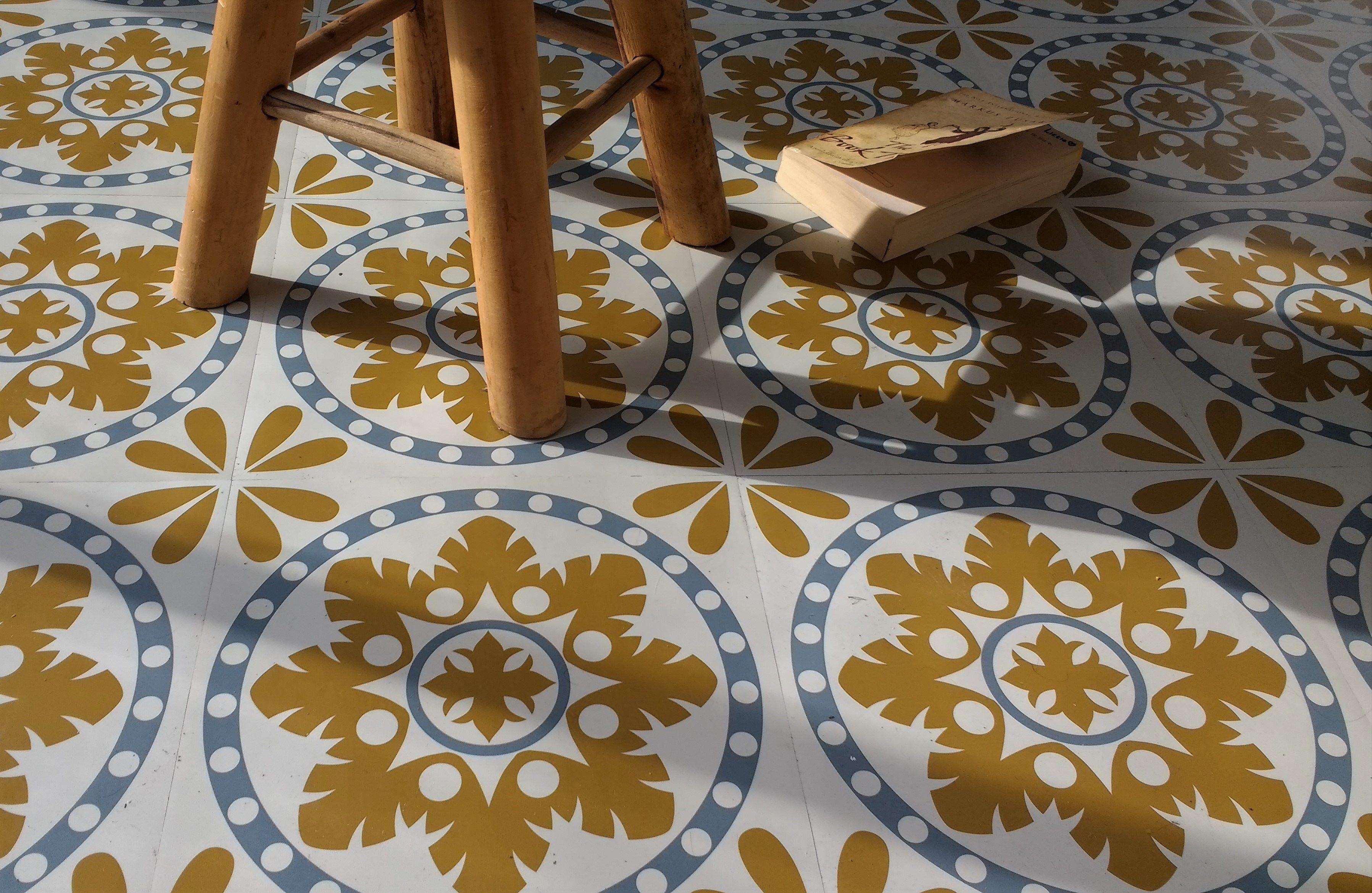 Sorzano Original Vinyl Floor Tile 20 Per M2 Kitchen Pinterest