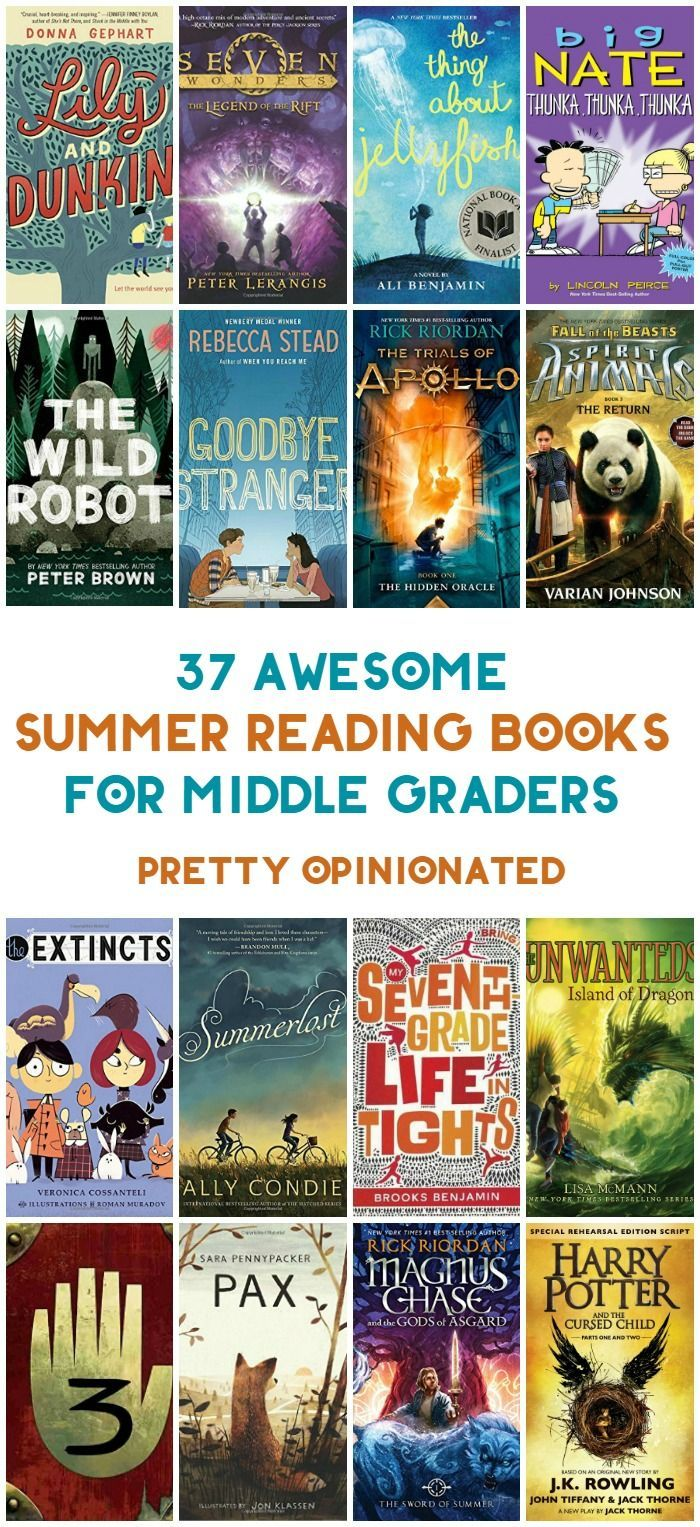 2016 Summer Reading List for Middle Grade Kids is part of Summer reading, Summer reading lists, Books, Middle grades reading, Middle grade books, Kids reading books - Can you believe it's already time to start thinking about summer reading lists  Every year, I put together a few different types of lists for different age groups  This year, I decided to focus more