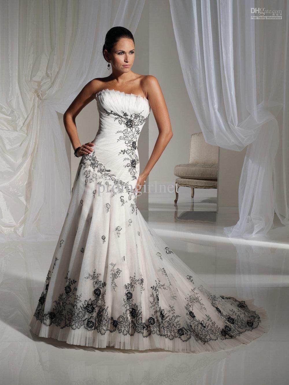 Black Lace Wedding Dress | Wedding Decorating: black lace wedding ...