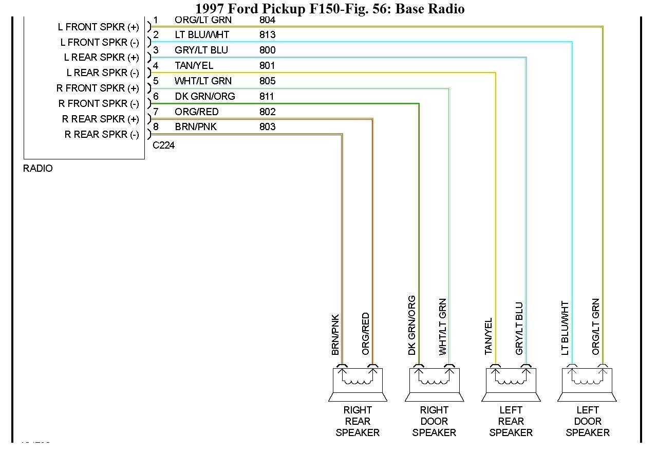 1998 Ford F 150 Speaker Wiring Diagram