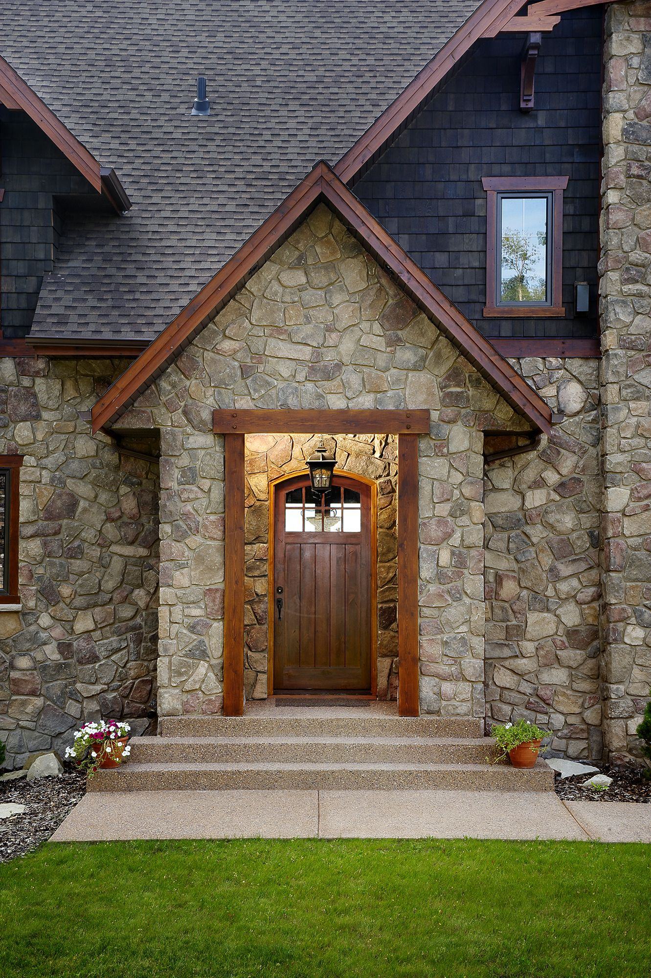 Manufactured Stone Home Exteriors Mutual Materials Cultured Stone Stone Exterior Houses Stone Houses