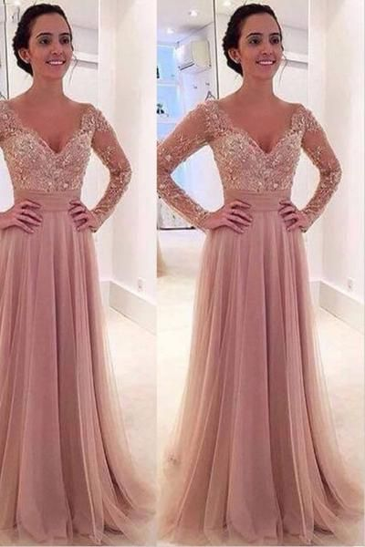 Formal Dress with Detached Sleeves