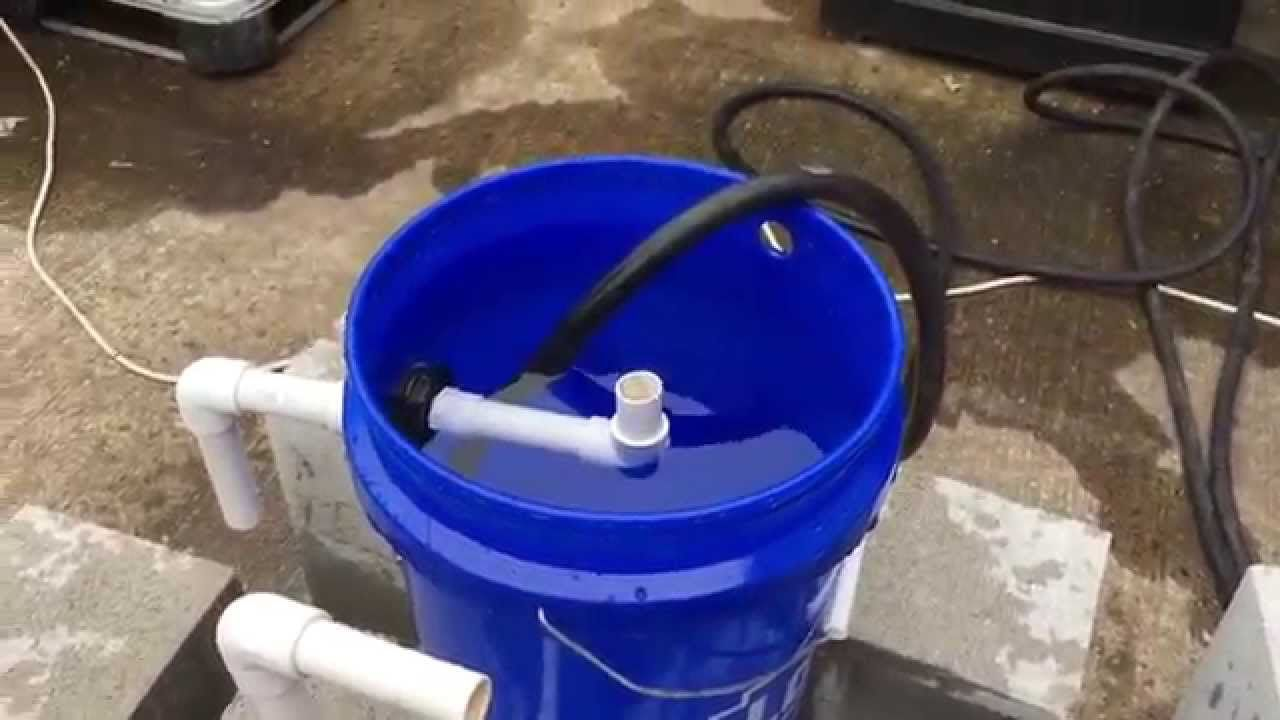 Diy 5 Gallon Swirl Filter For An Aquaponics System